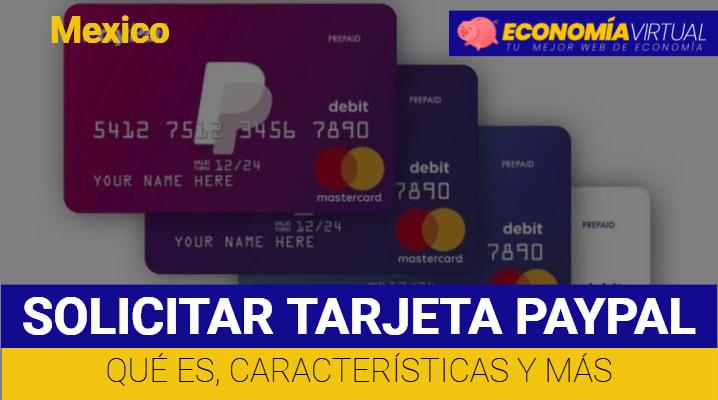 Solicitar Tarjeta Paypal