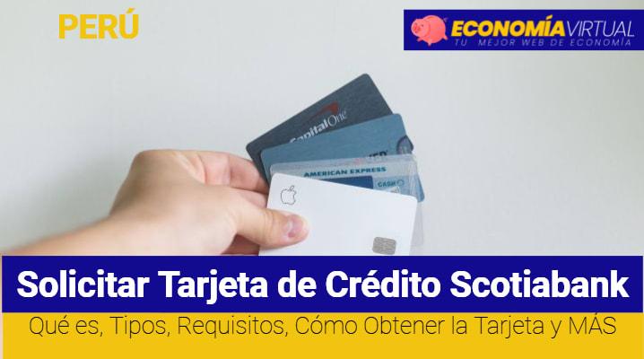 Solicitar Tarjeta de Crédito Scotiabank